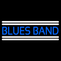 Blue Blues Band Leuchtreklame