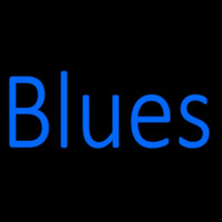 Blues Block 1 Leuchtreklame