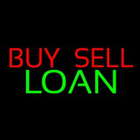 Buy Sell Loan Leuchtreklame