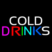 Cold Drinks Leuchtreklame