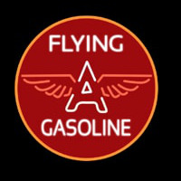 Flying a Gasoline Leuchtreklame