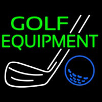 Golf Equipment Leuchtreklame