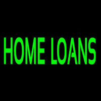 Green Home Loans Leuchtreklame