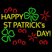 Happy St Patricks Day Leuchtreklame