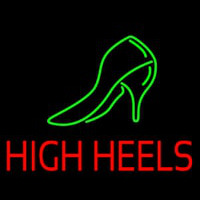 High Heels With Sandal Leuchtreklame