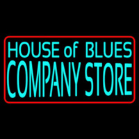 House Of Blues Company Store Leuchtreklame