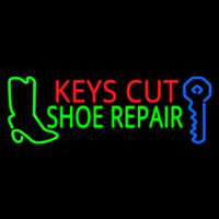 Keys Cut Shoe Repair Leuchtreklame