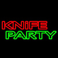 Knife Party 1 Leuchtreklame