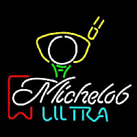Michelob Ultra Red Ribbon PGA Golf Leuchtreklame
