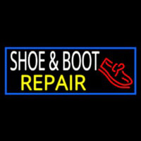 Shoe And Boot Repair Leuchtreklame