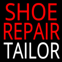Shoe Repair Tailor Leuchtreklame