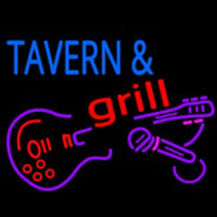 Tavern And Grill Guitar Leuchtreklame