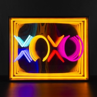 XOXO 3D Infinity LED Neon Sign