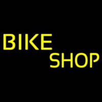 Yellow Bike Shop Leuchtreklame