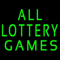 All Lottery Games Leuchtreklame